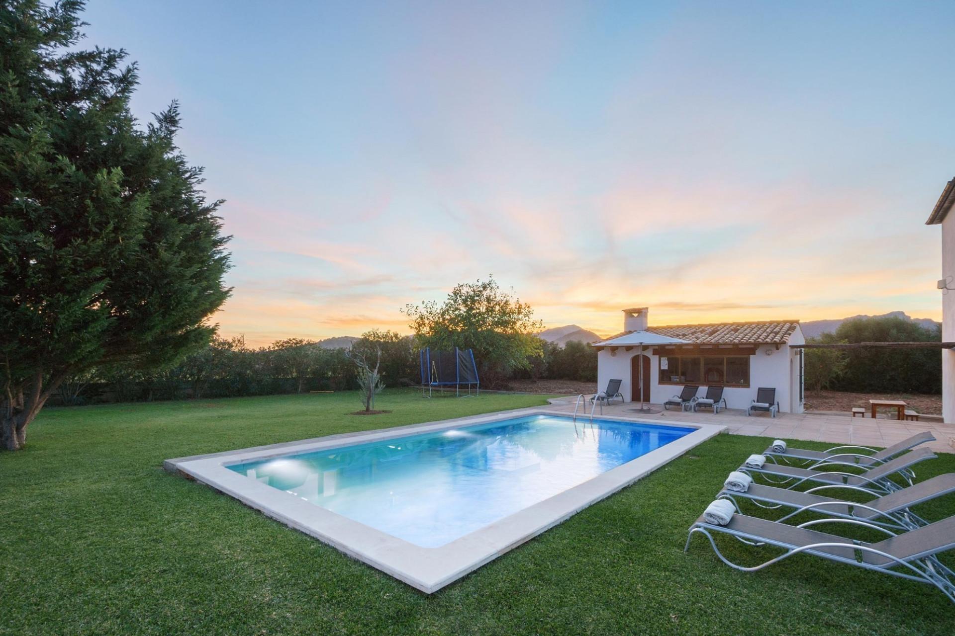 Luxury 4 Bedroom Villa Pollenca Villa With Private Pool