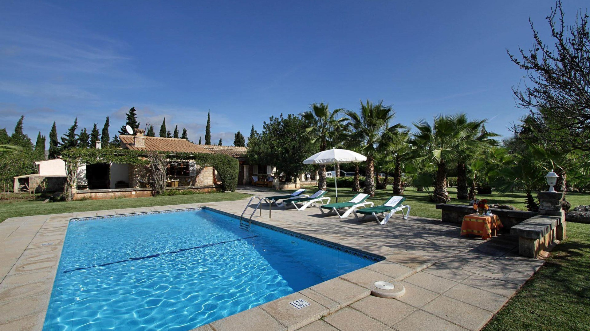 Traditional 3 Bedroom Villa Pollenca Private Pool And Outdoor Kitchen