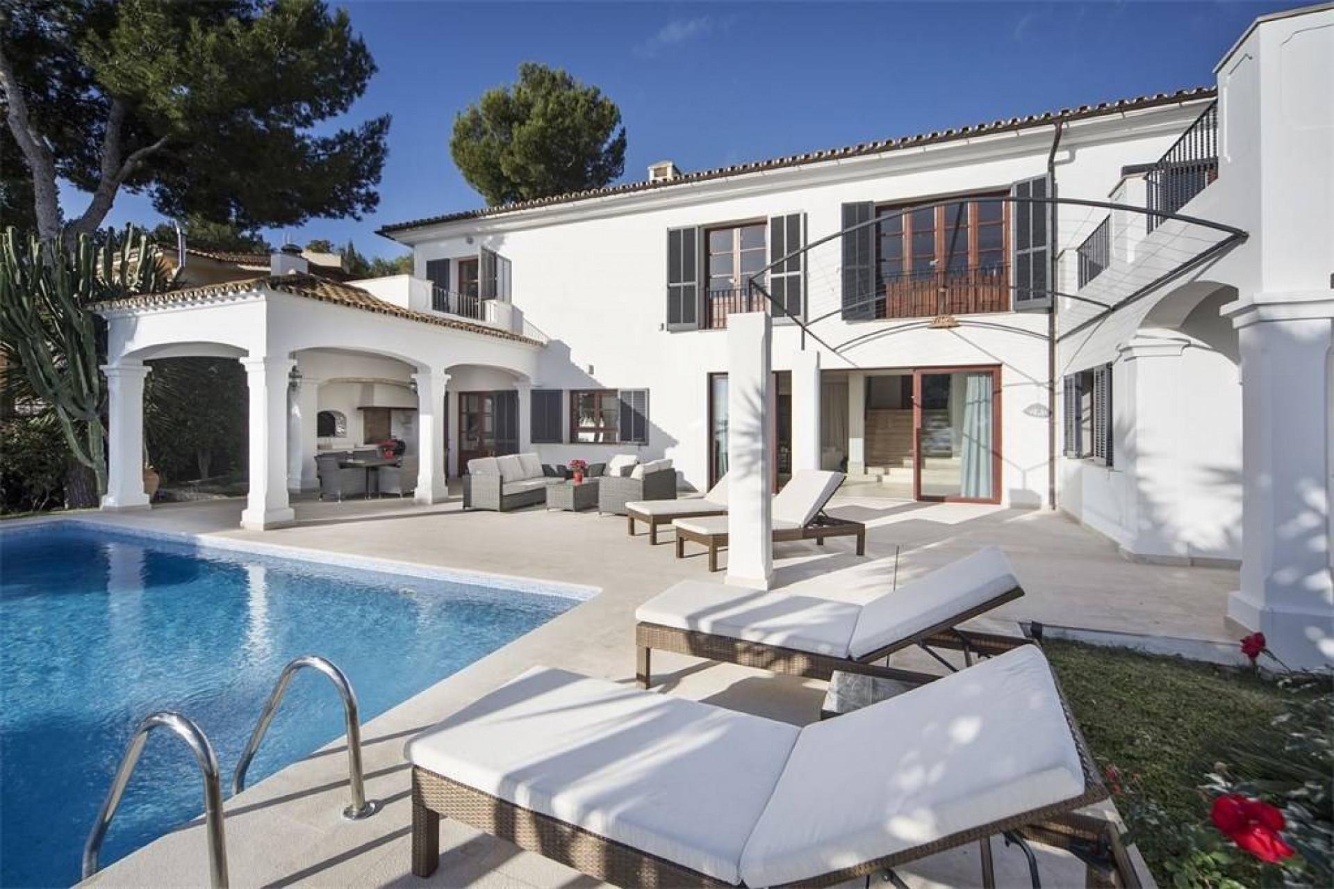 5 Bedrooms Villa Illetas Luxury Villa With Private Pool & Sea Views