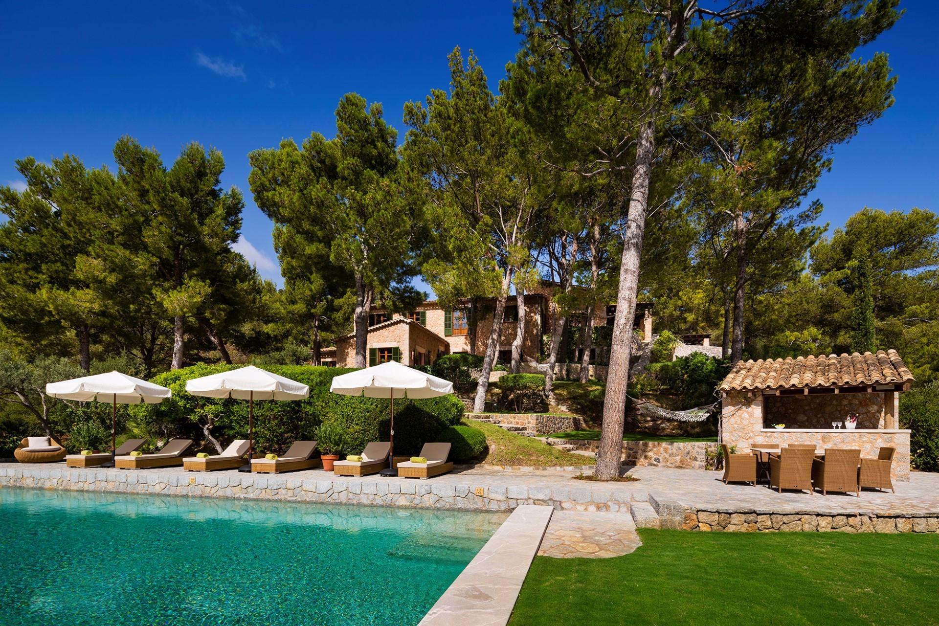 5 Bedroom Villa  Son Bunyola Luxury Villa With Pool