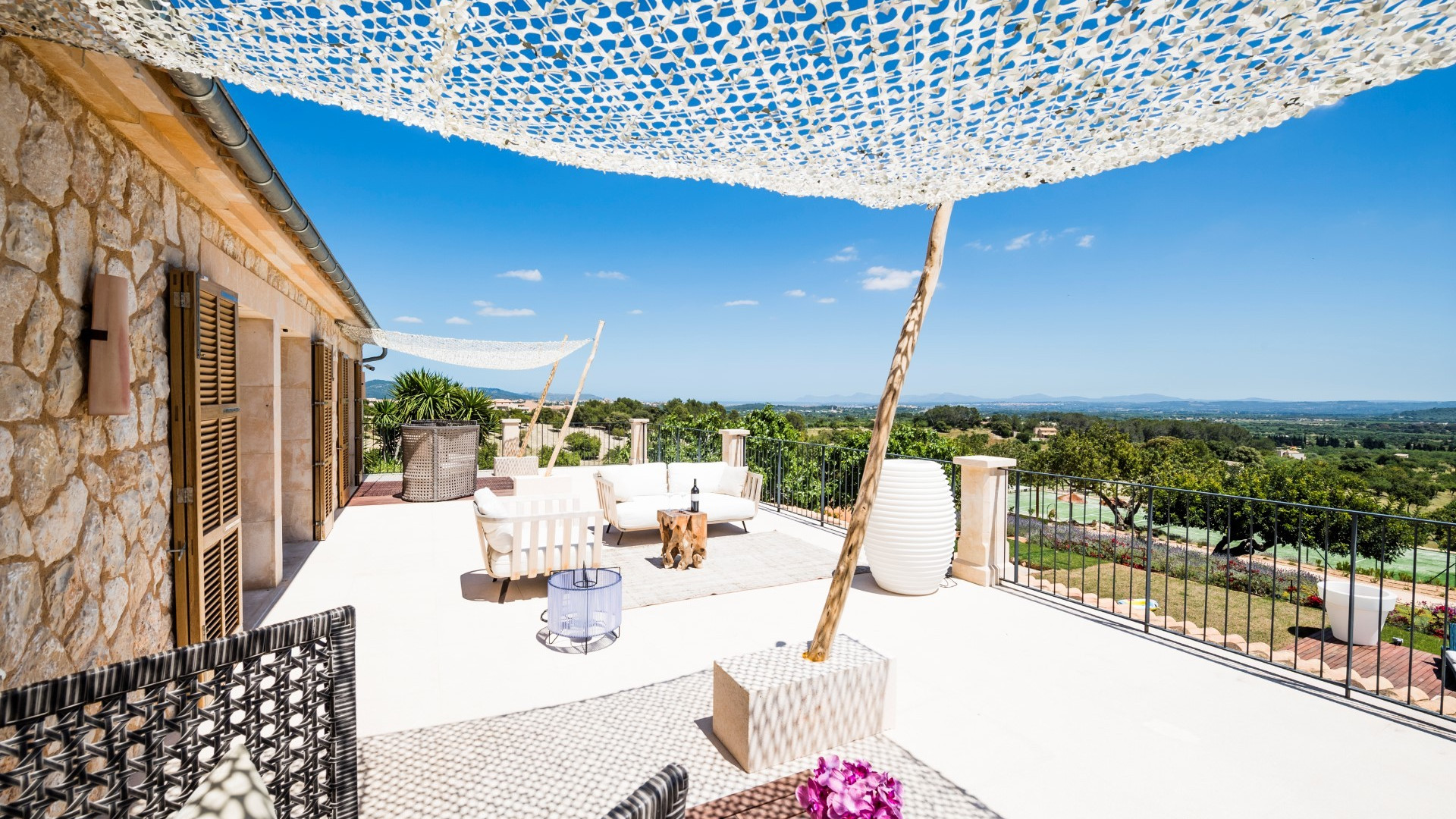 Modern 5 Bedroom Villa Moscari Private Pool And Tennis Court