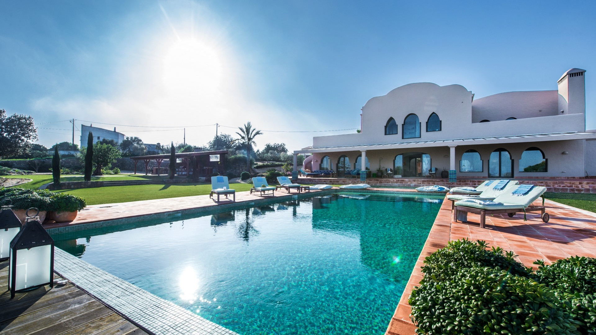 Moorish Themed Luxury 6 Bedroom Villa Tavira Private Pool And Sea Views