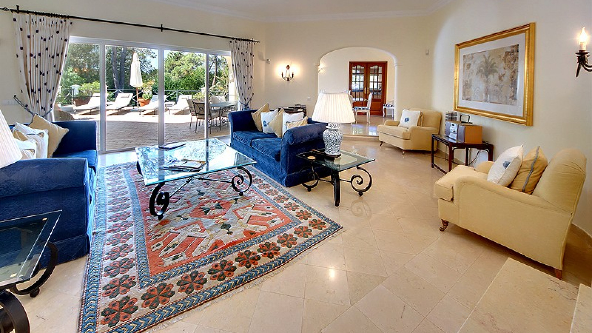 Algarve Holidays Luxury 5 Bedroom Villa Quinta do Lago Private Pool Close To Golf