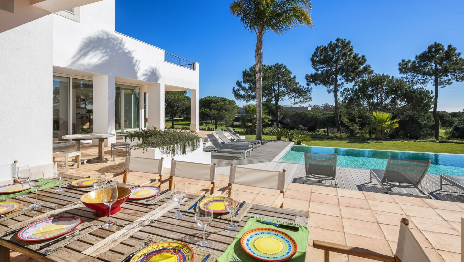 Algarve Holidays Luxury 4 Bedroom Villa Quinta do Lago With Private Pool And Golf Views