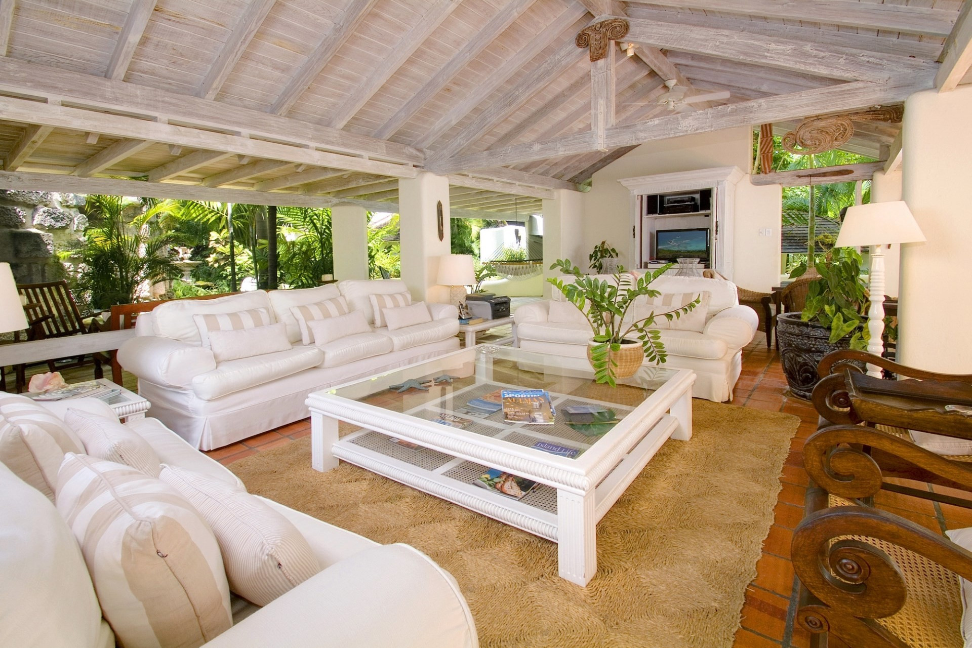 Beachfront 6 Bedroom Villa Sandy Lane Seaviews And Direct Access to Beach