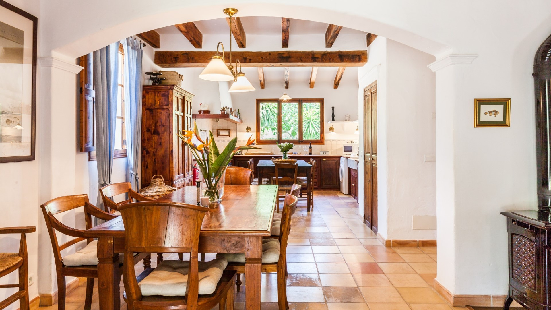 Luxury 6 Bedroom Villa Pollenca With Private Pool Close To Old Town Perfect For Large Groups