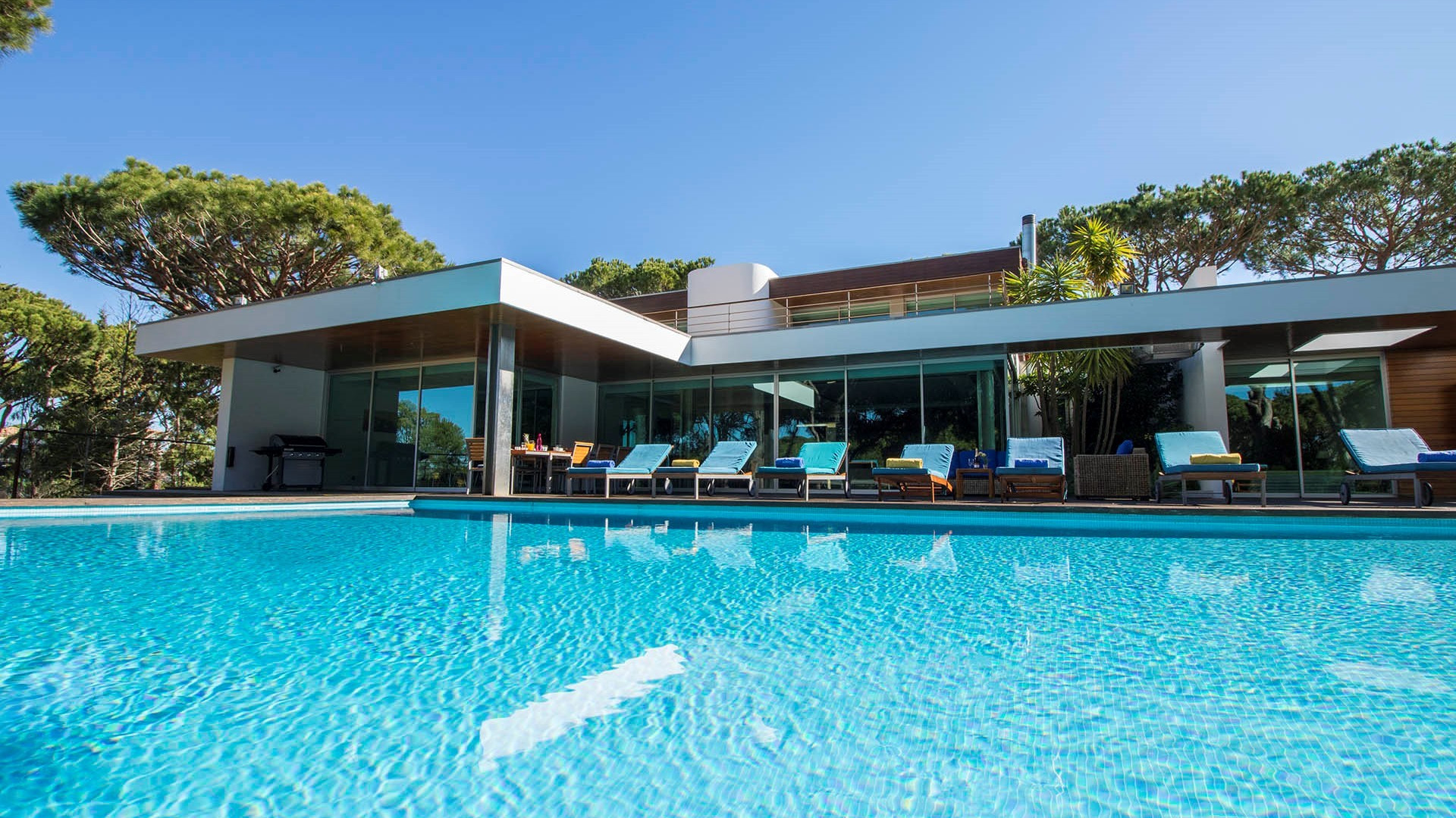 Algare Holidays Luxury 5 Bedroom Villa Vilamoura Privacy And Large Private Pool