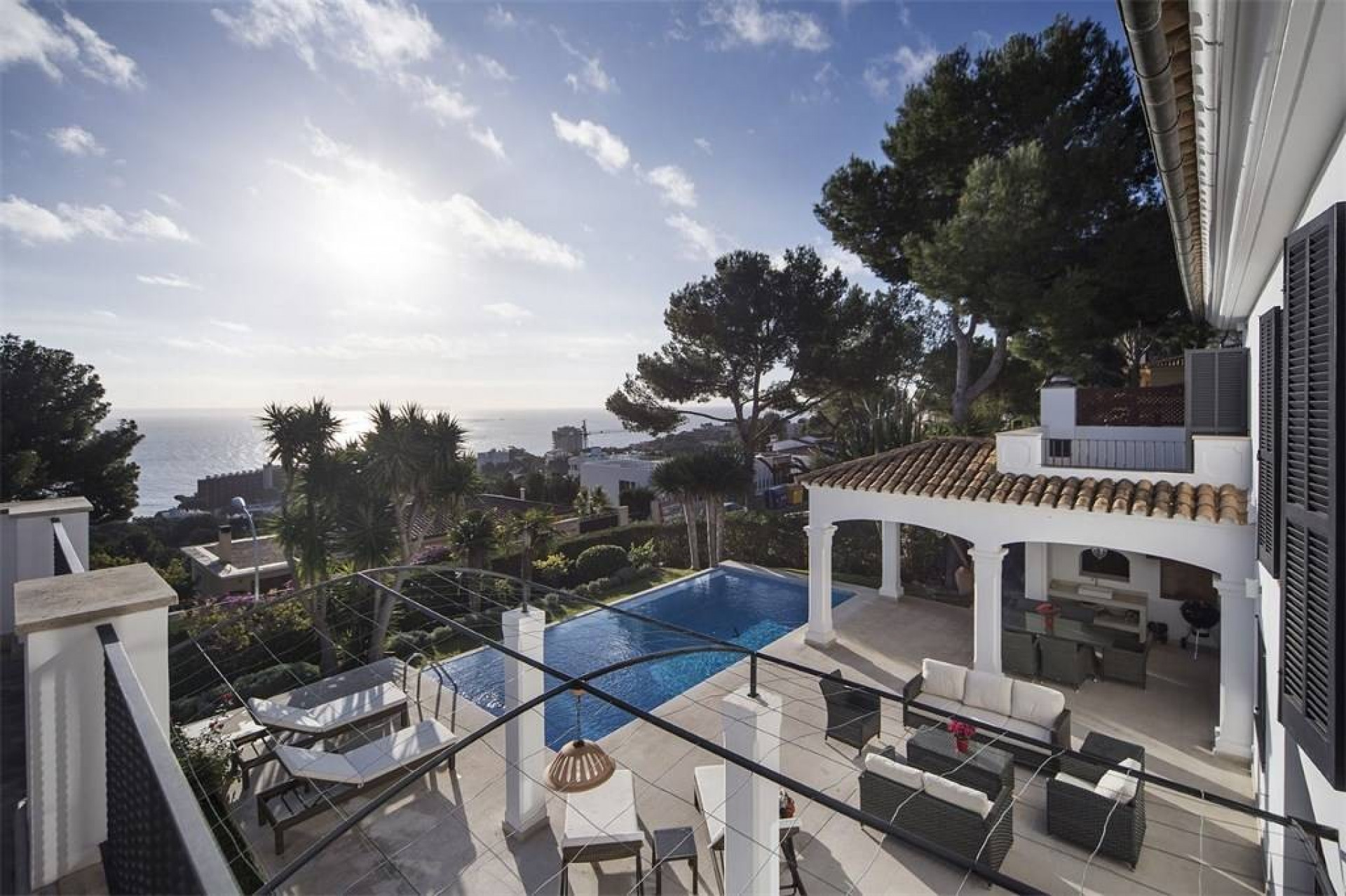 5 Bedrooms Villa Illetas Luxury Villa With Private Pool & Sea Views