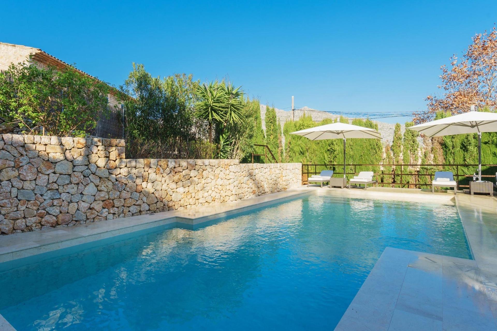 Modern 4 Bedroom Villa Pollenca Private Pool Close To Amenities