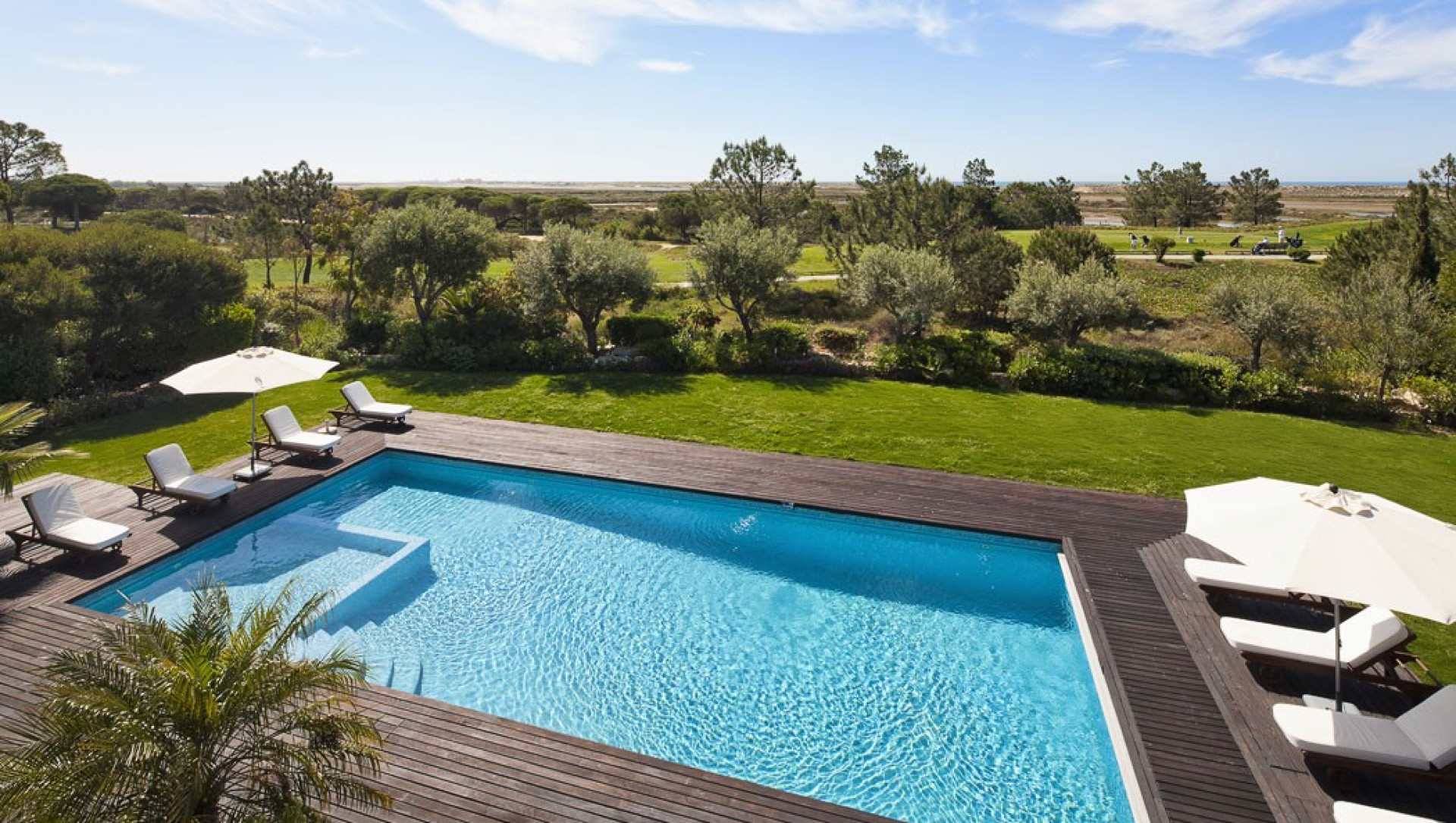 Luxury 6 Bedroom Villa Quinta do Lago Large Heated Pool And Sea Views