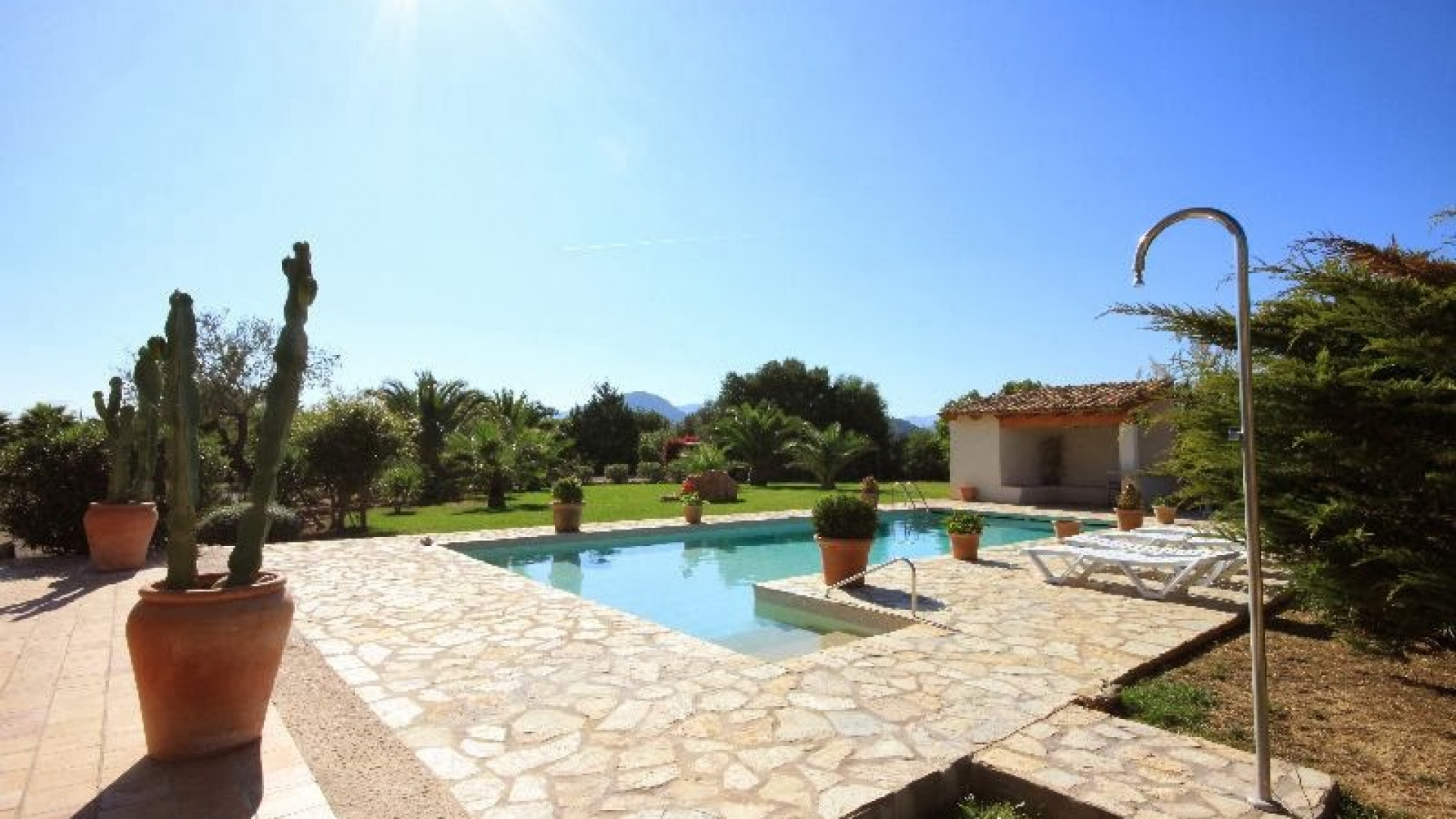 Traditional 6 Bedroom Villa Pollenca Private Pool And Walking Distance to The Port